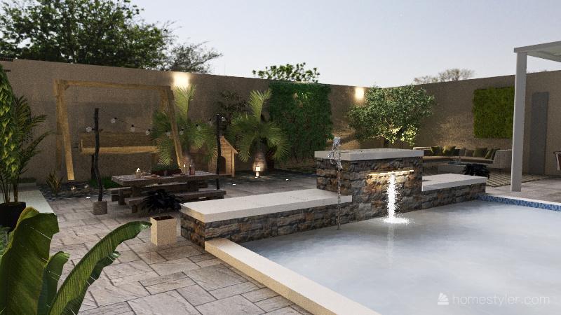 Lote piscina chayo Interior Design Render