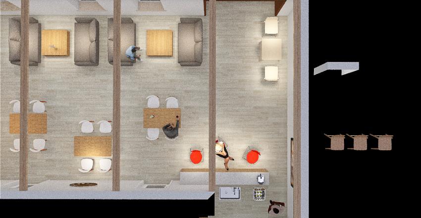 кафе суворова 23.06 Interior Design Render