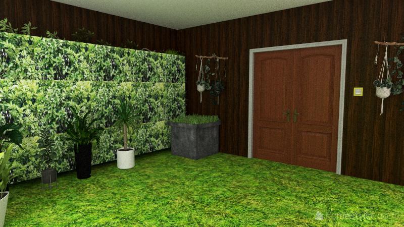 garden Interior Design Render