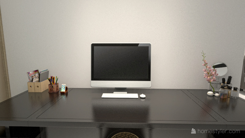 Modern Small Starter Home Interior Design Render