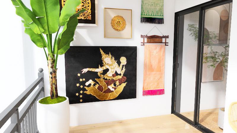 Multi Flat Interior Design Render