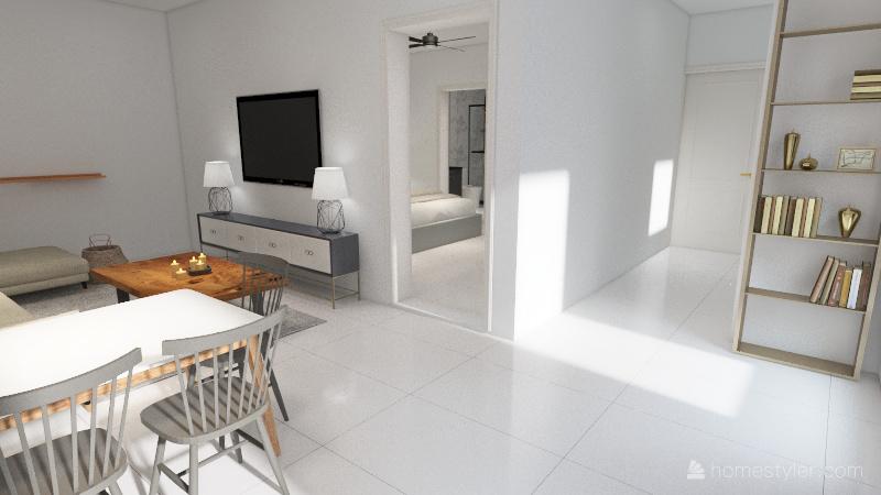 flat murree Interior Design Render