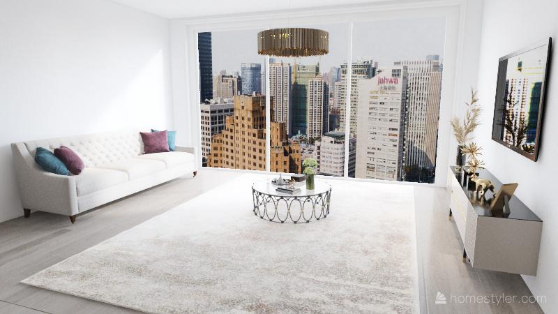 Apartment 11 Interior Design Render