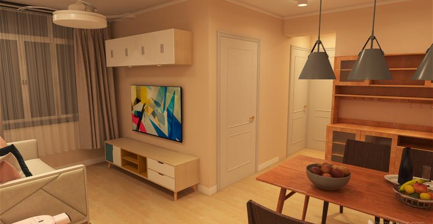YING MING 9 Interior Design Render