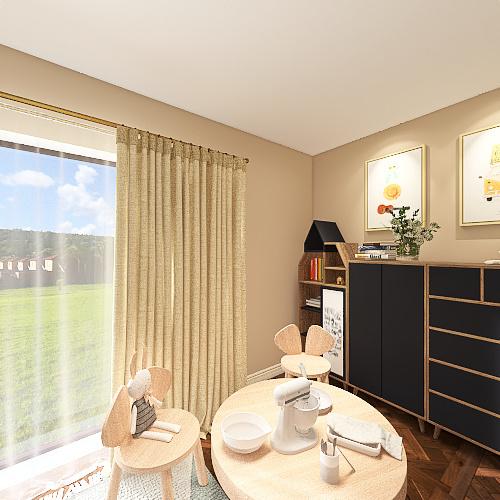 now Interior Design Render