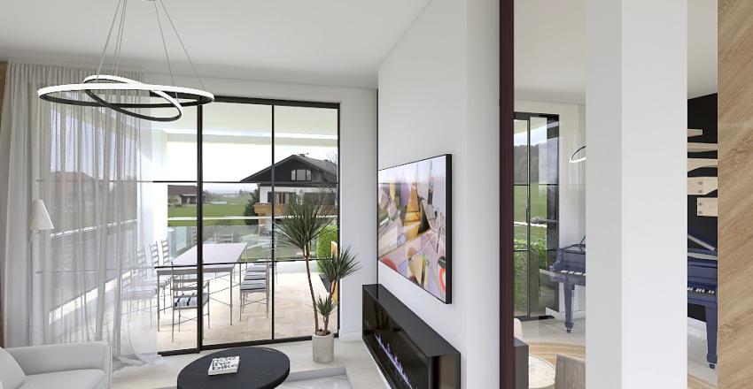 Simple Condo Interior Design Render