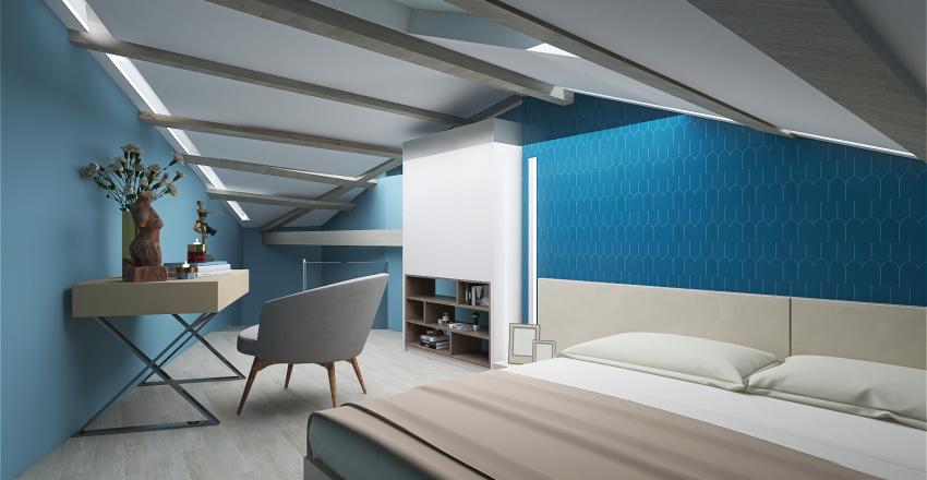 airbnb Interior Design Render