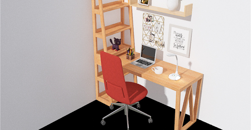Home Junior  casa Interior Design Render
