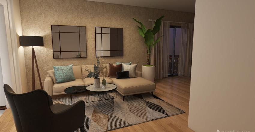casa ka Interior Design Render