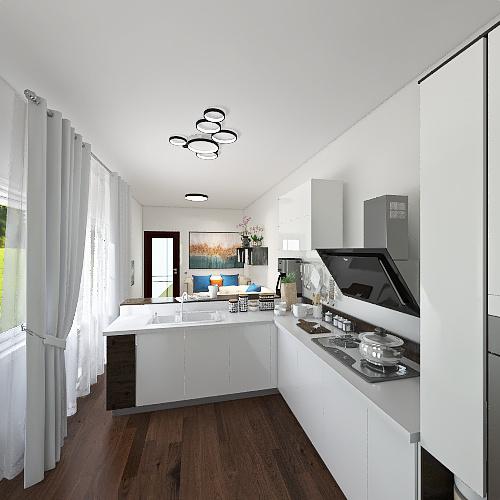 Кухня Interior Design Render