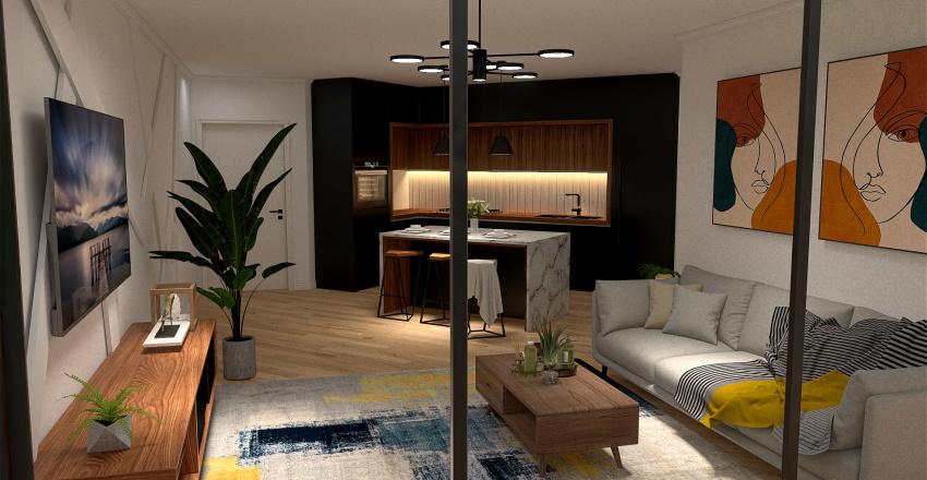 Relaxation Temptation | Condo Interior Design Render