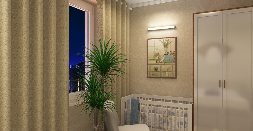 Одинград Interior Design Render