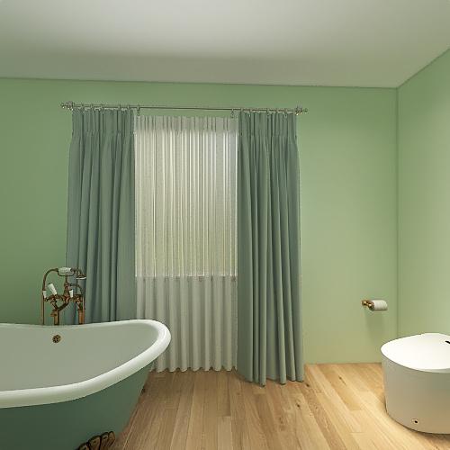 Trendy house Interior Design Render