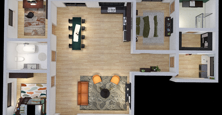 Designing My Dream House Interior Design Render