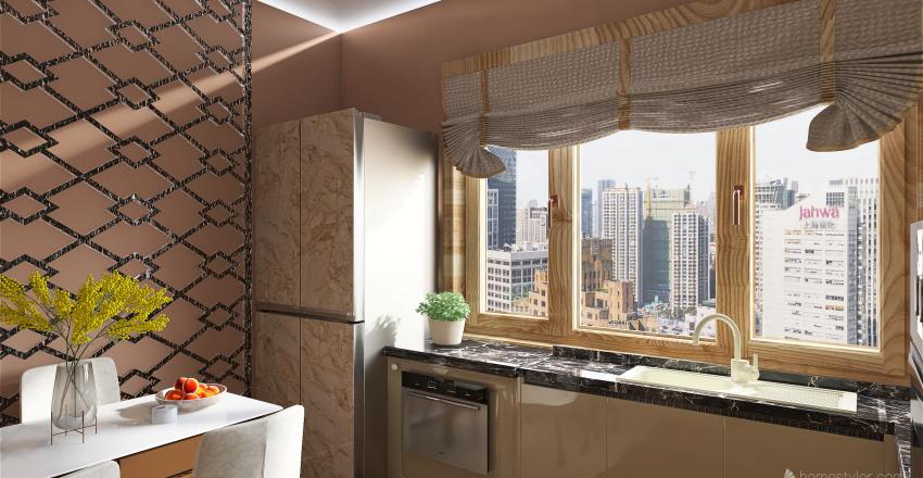 Honterus Small House Interior Design Render