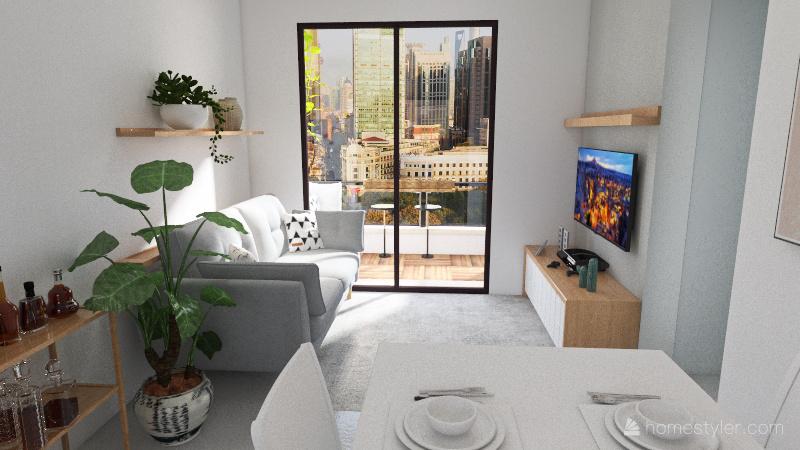 Apartamento Pagani Interior Design Render