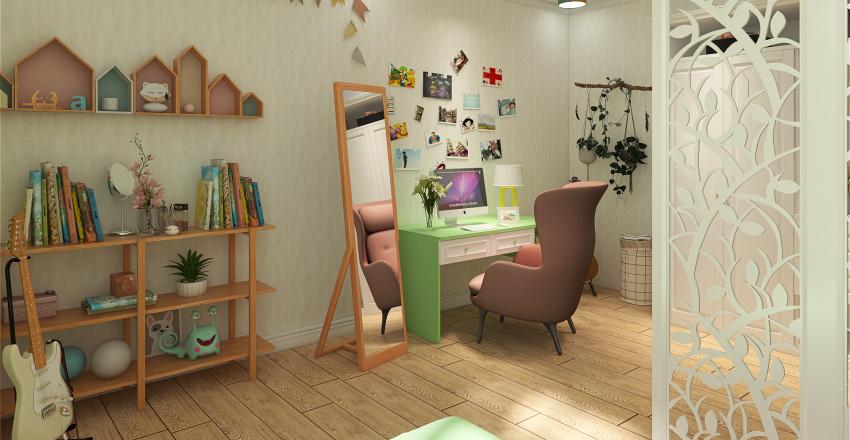 sweet home ❤ Interior Design Render
