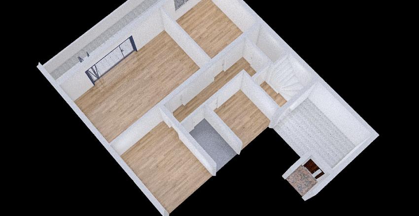Primošten kuća Interior Design Render