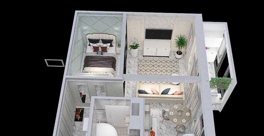 Copy of однушка вар 2 Interior Design Render