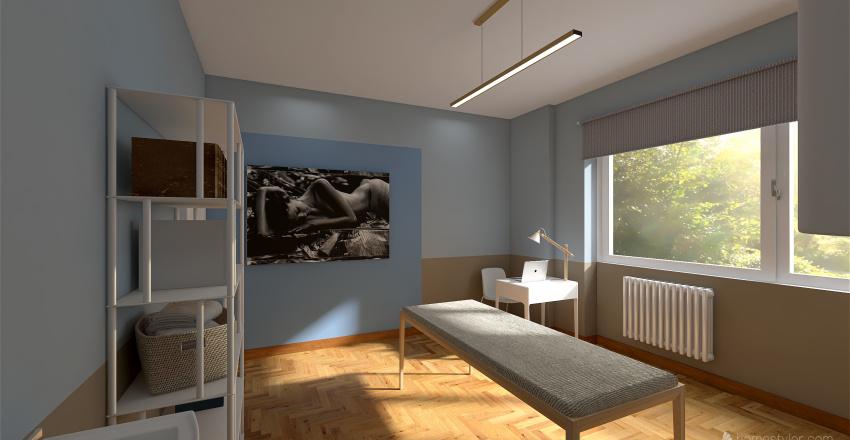 Studio Medicina Estetica Interior Design Render