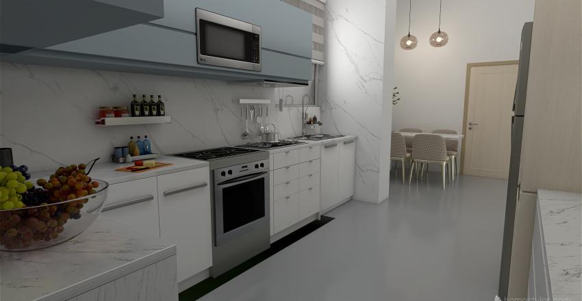 APARTAMENTO 1 PLANTA Interior Design Render