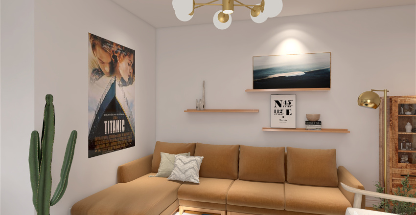 Projet Amandine & Daniel Interior Design Render