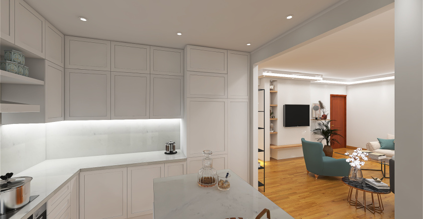 LAB_DROSIA_HOUSE RENOVATION_ATHENS Part III Interior Design Render