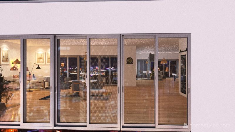 Gaming Room... Interior Design Render