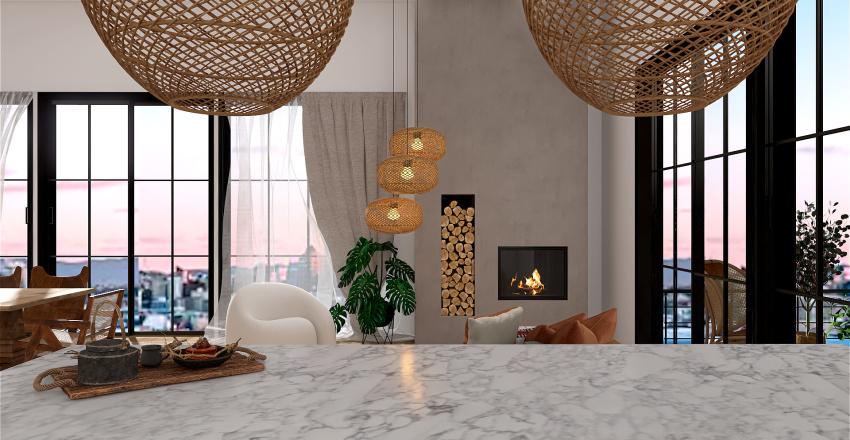 auckland dream uni house Interior Design Render