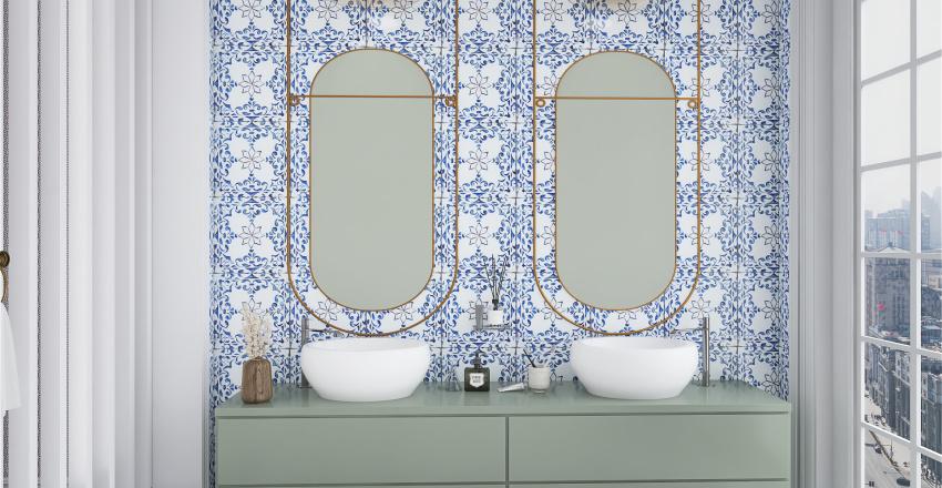 Luxury Bathroom Interior Design Render