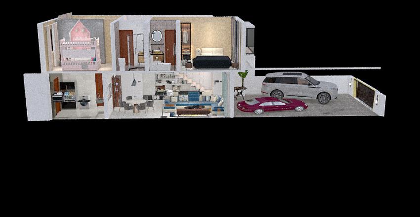 CLOVERCOTT Interior Design Render