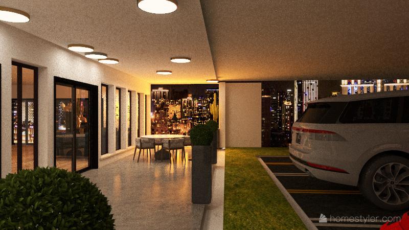 Restaurant... Interior Design Render
