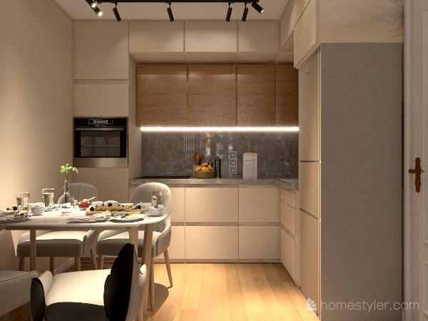 Бирюза Interior Design Render