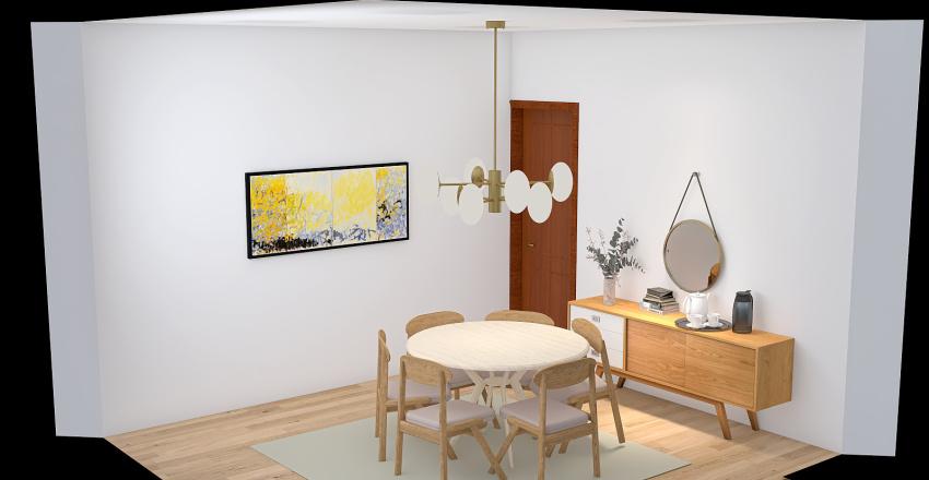 Cozinha ATIVIDADE Interior Design Render