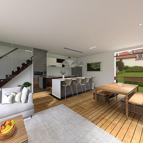 Original OOB LIVING ROOM Interior Design Render