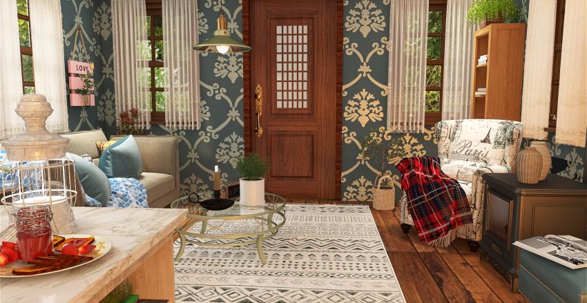 Bavarian house Interior Design Render