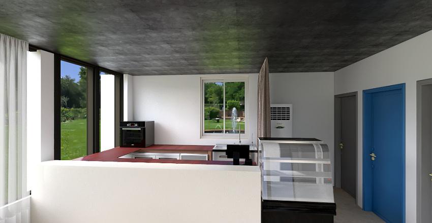 카페 인테리어 Interior Design Render