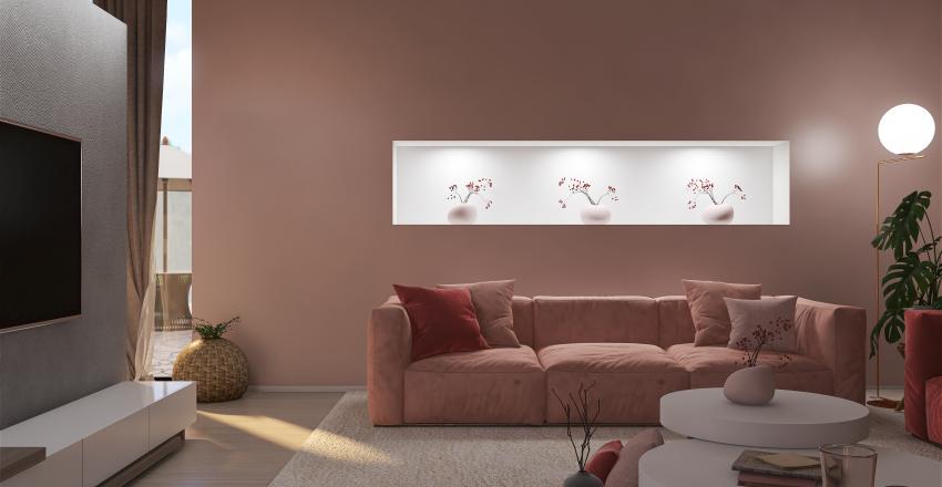 LA VIDA EN ROSA Interior Design Render