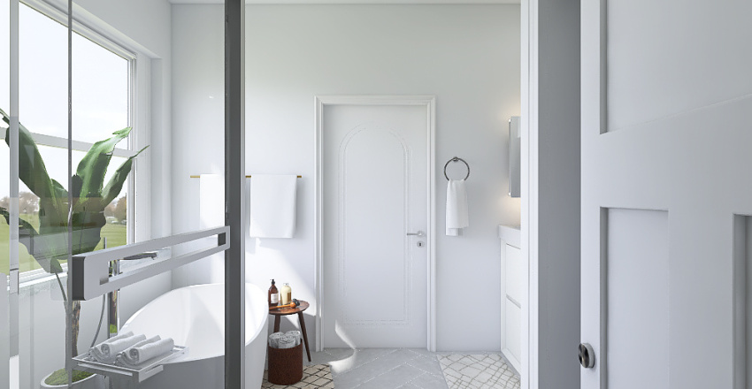 Bathroom Reno Interior Design Render