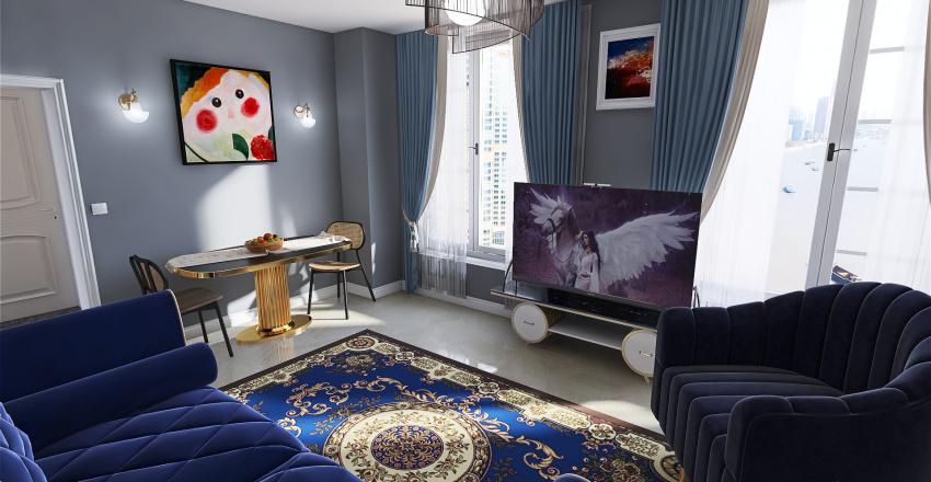 San Petersburg Modern Hotel Interior Design Render