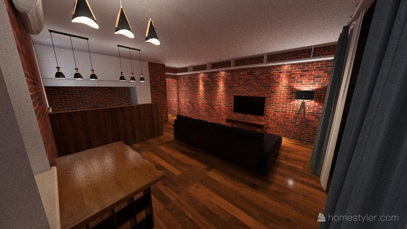 JULA&TOMEK B10.4 Interior Design Render