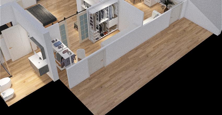 Vecchio 3 - MANSARDA Interior Design Render