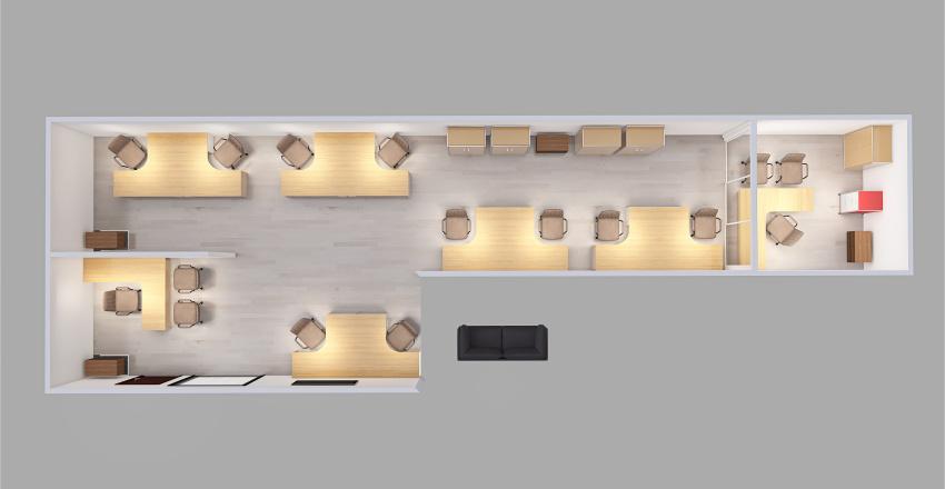 ESCon Administração Interior Design Render