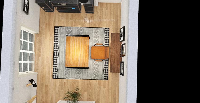 William's Office Interior Design Render