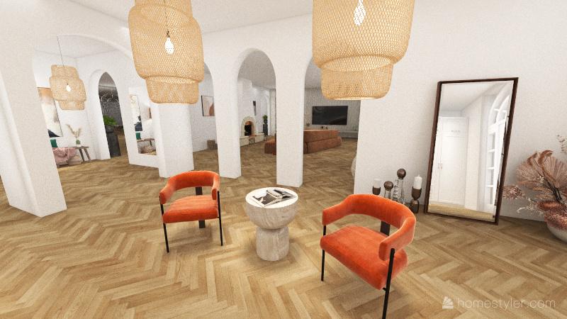 Los Angeles Interior Design Render