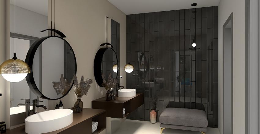 oficina en New York Interior Design Render