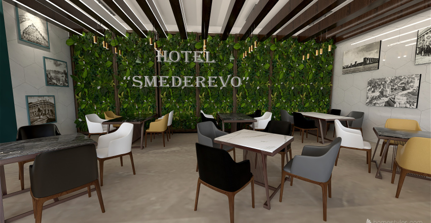 hotelsd Interior Design Render