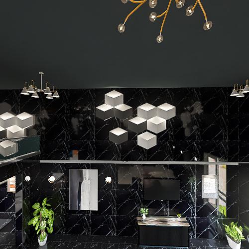 Luxurious 2 story 4BHK Interior Design Render