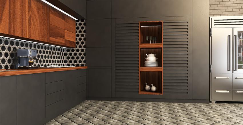 Ben Shadow's Bachelor Pad Interior Design Render
