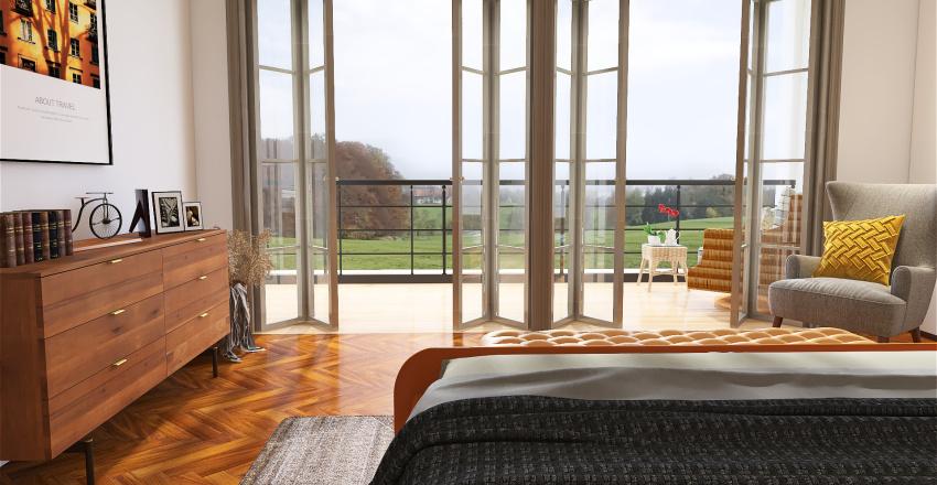 village house Interior Design Render
